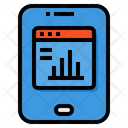 Tablet Smartphone Data Icon