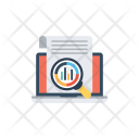 Online Data Analysis Icon