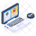 Online Data Protection Icon