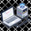 System Data Data Server Online Data Server Icon