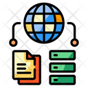Online Data Sharing Icon