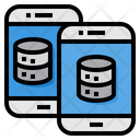 Server Smartphone Transfer Icon