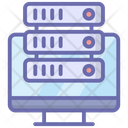 Online Database Server Hosting Database Hosting Icon