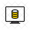 Database Storage Online Icon