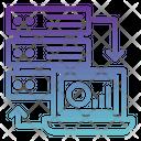 Online Database Management Online Server Management Online Server Report Icon