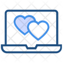 Heart Valentines Day Laptop Icon