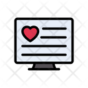 Dating Online Love Icon