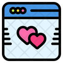 Online Dating Icon
