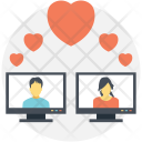 Dating Interaction Couple Icon