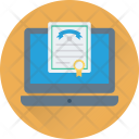 Online Degree Certificate Icon