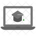 Online Degree Learning Icon