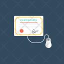 Online Degrees Icon