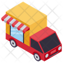 Online Delivery Gift Delivery Cargo Service Icon