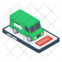 Online Delivery Mobile Delivery Logistic Delivery Icon