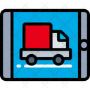 Tablet Delivery Ipad Logistics Icon