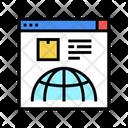 Delivery Service Web Icon