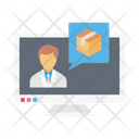Delivery Online Logistics Icon