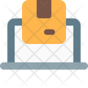 Online Delivery Online Tracking Package Icon