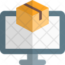 Online Delivery Online Package Delivery Icon