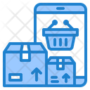 Online Delivery Delivery Basket Icon