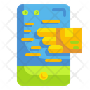 Online Delivery Mobile App Icon