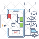 Online Delivery Shipping Icon
