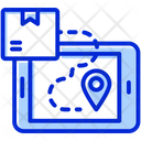 Online Delivery Tracking Order E Commerce Icon