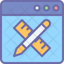 Online Designing Icon