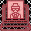 Online Detective Icon