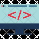 Online Development Icon