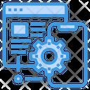 Online Service Device Icon