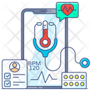 Emergency Services Online Healthcare Medical Services Icon