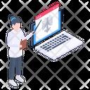 Online Diagnosis Icon