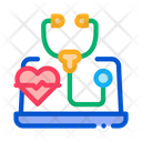 Patient Online Diagnostic Icon