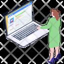 Online Diagnostic Icon