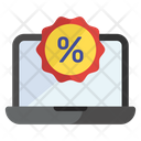 Shopping Discount Internet Shopping Online Discount Icon