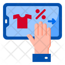 Mobilephone Discount Shopping Icon