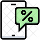 Business Financial Discount Icon