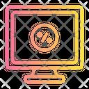 Monitor Cyber Monday Icon