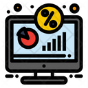 Discount Display Monitor Icon
