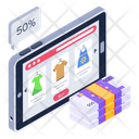 Online Discounted Products Icon