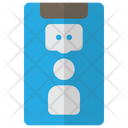 Online Discussion On phone Icon