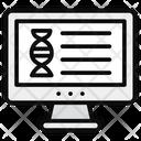 Online Dna Online Medication Dna Icon