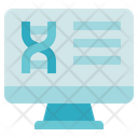 Biology Computer Dna Icon