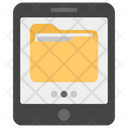 Online Docs Digital Storage Electronic Document Icon