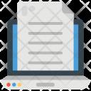 Online Docs Digital Icon
