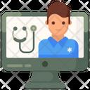 Online Doctor Online Chemist Online Pharmacist Icon