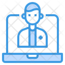Doctor Medical Assistance Computer Icon