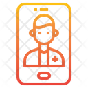Smartphone Medical Assistance Advise Icon