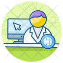 Medical App Online Doctor Medical Consulting Icon